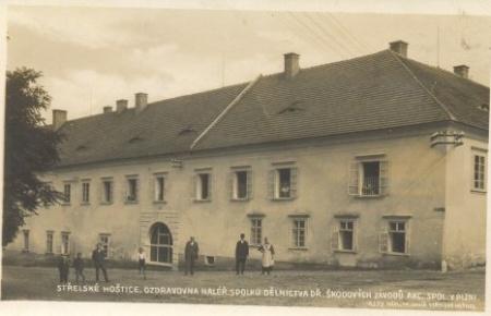 jižní křídlo zámku - doroku 1927