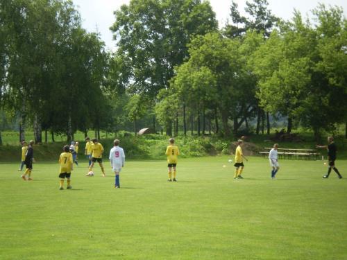 Fotbalový turnaj _ O POHÁR STAROSTY OBCE 1. ročník červen 2013