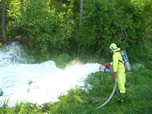 chemické cvičení, květen 2008