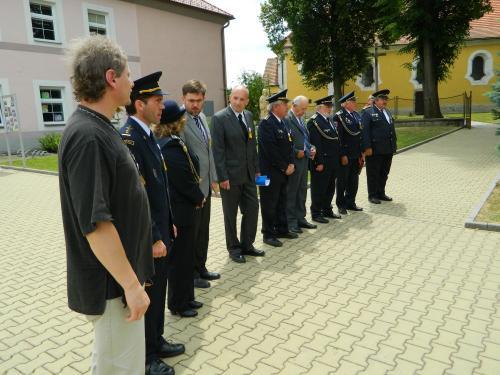 Oslavy 130 výročí založení SDH Střelské Hoštice