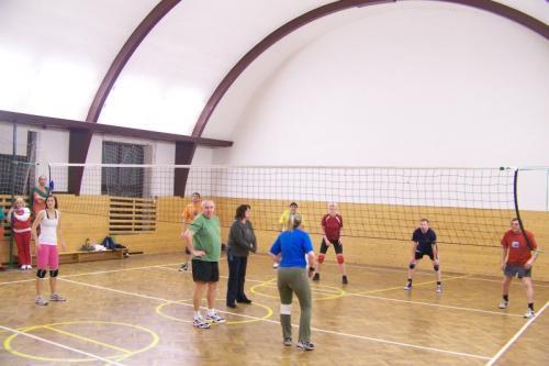 volejbalový zápas SH - Sušice