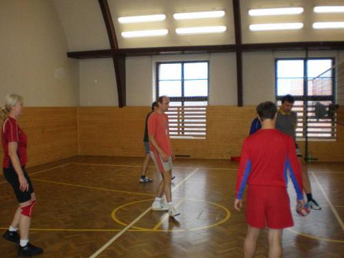 volejbalový team SH