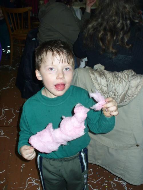 dětské maškarní únor 2010